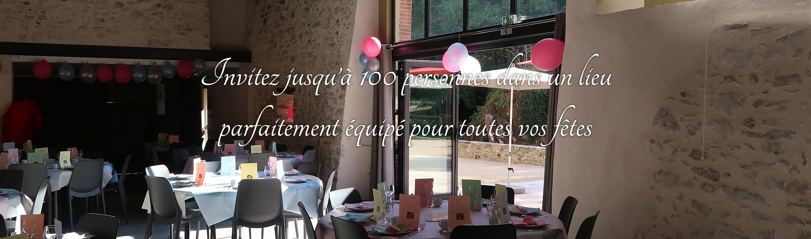 Location pour mariage et évènements atypiques en Vendée