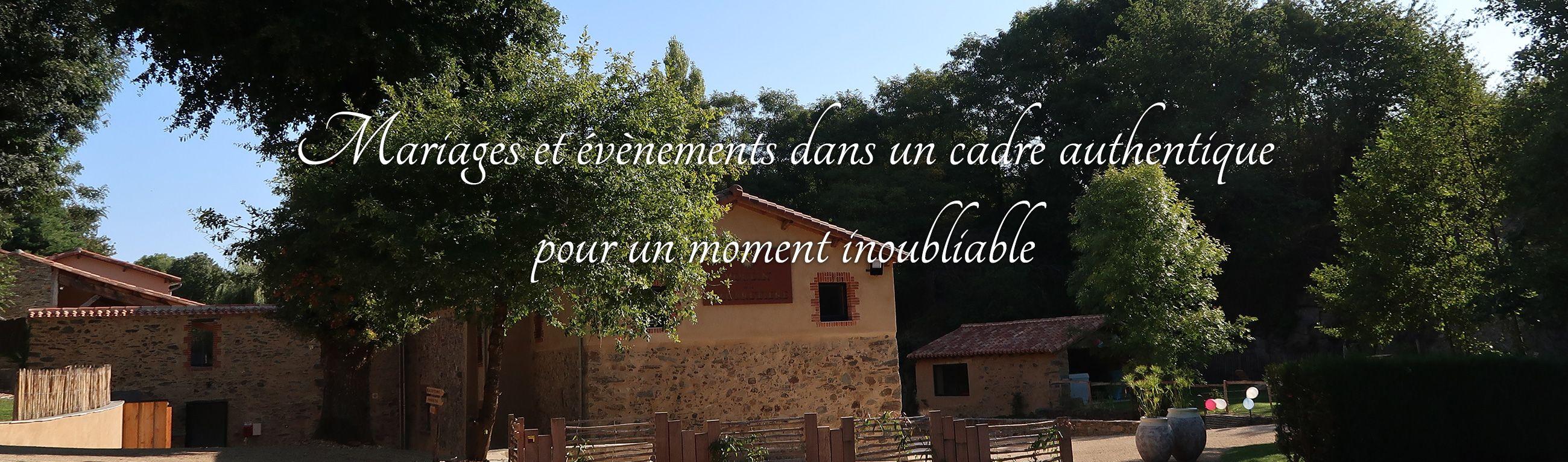 Mariage et évènement en Vendée