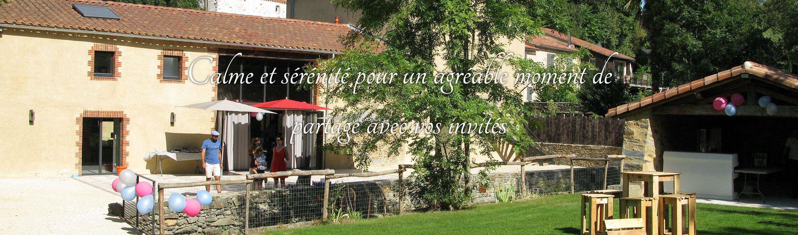 Location de salle pour fête en Vendée