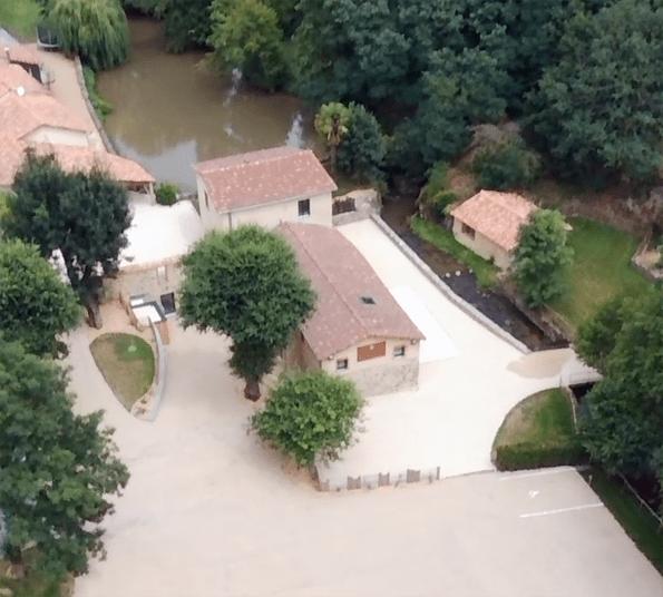Vue aérienne Moulin de la Faubretière