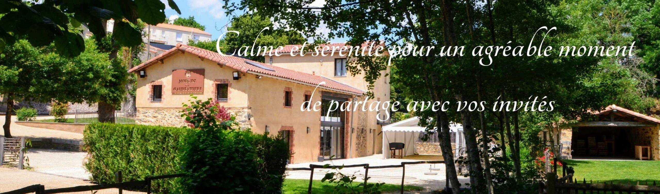 Location de salle pour mariage en Vendée